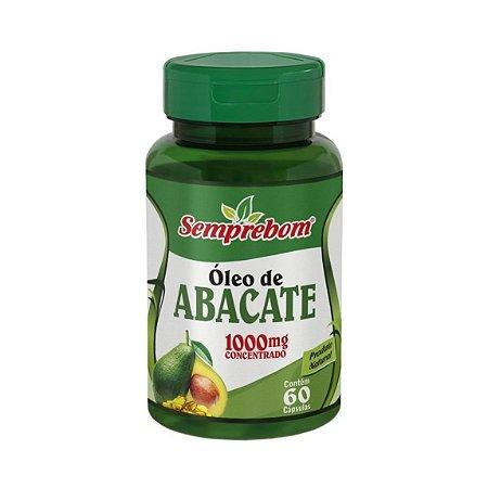 Óleo de Abacate Concentrado SEMPREBOM 1000mg 60 Cápsulas