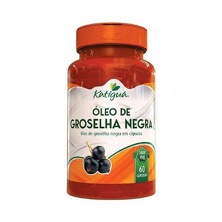 OLEO DE GROSELHA NEGRA 60 CAPS 1000MG KATIGUA