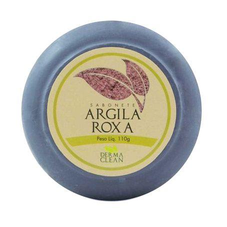 Sabonete de Argila Roxa DERMACLEAN 110g