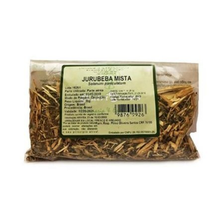 Jurubeba Mista (Solanum paniculatum) Parte Aérea NUTRI ERVAS 50g