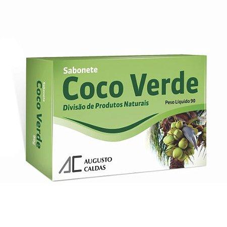 SABONETE COCO VERDE 90G AUGUSTO CALDAS