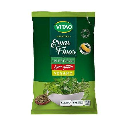 SNACK INTEGRAL ERVAS FINAS 60G VITAO