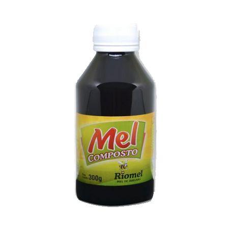 Mel Composto com Própolis e Plantas Medicinais RIOMEL 300g