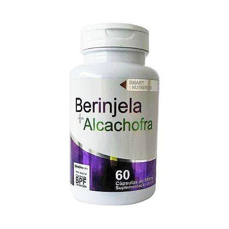 Berinjela + Alcachofra 4 ELEMENTOS 500mg 60 Cápsulas