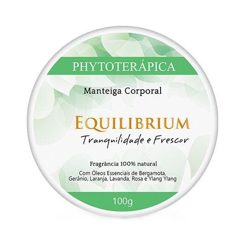 Manteiga Corporal Equilibrium (Tranquilidade e Frescor) PHYTOTERÁPICA 100g