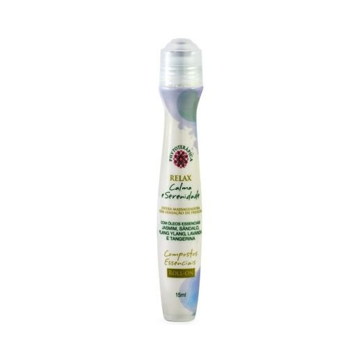 Compostos Essenciais Relax (Calma e Serenidade) Roll-on PHYTOTERÁPICA 15ml