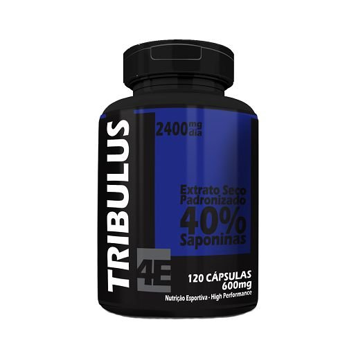 Tribulus Terrestris 4 ELEMENTOS 600mg 60 Cápsulas