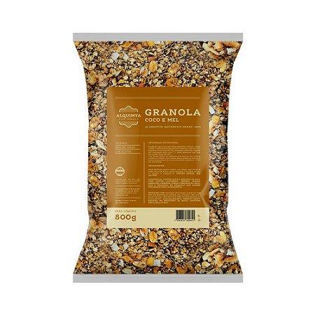 Granola ALQUIMYA Coco e Mel 800g