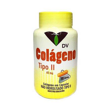 Colágeno Tipo 2 (UC-2) DV (Articulações) 40mg 30 Cápsulas