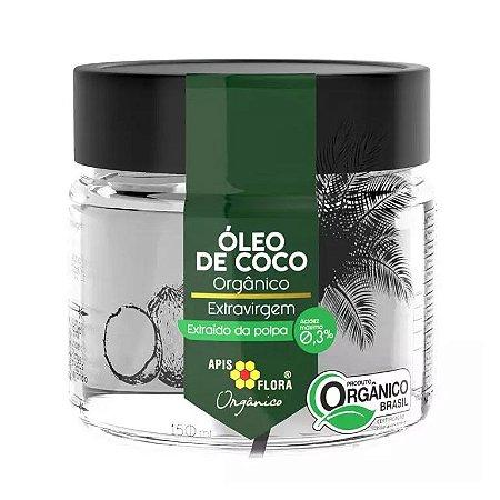 Óleo de Coco Extravirgem Orgânico APIS FLORA 150ml