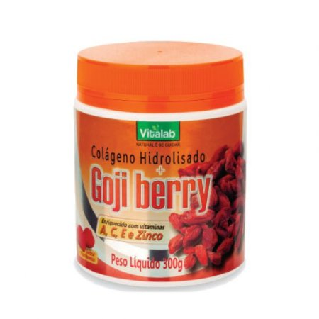 COLAGENO HIDROLISADO  + GOJI BERRY 300G VITALAB