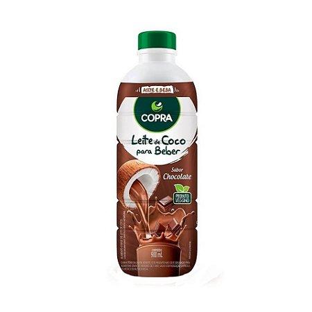 Leite de Coco COPRA Pronto para Beber Sabor Chocolate 900ml