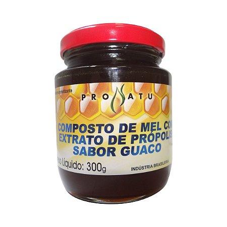 Mel Composto com Extrato de Própolis e Guaco PRONATU 300g