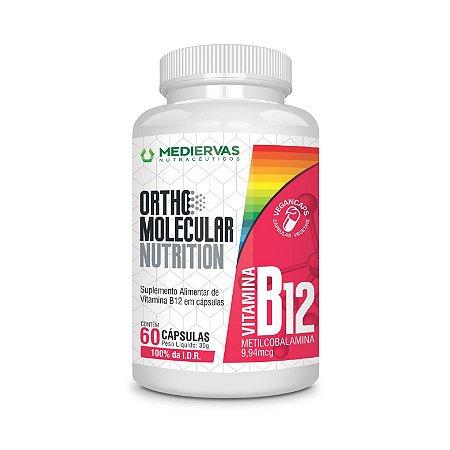 Ortho Molecular - Vitamina B12 Metilcobalamina 60 caps Mediervas