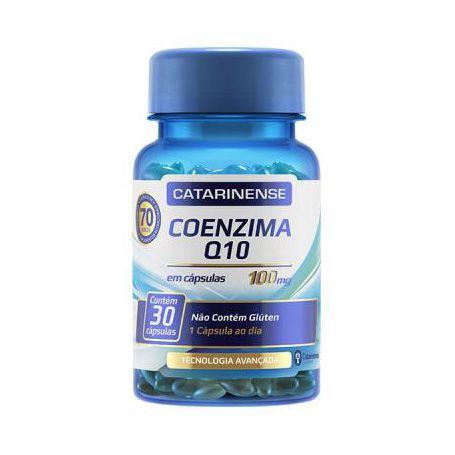 Coenzima Q10 CATARINENSE 100mg 30 Cápsulas