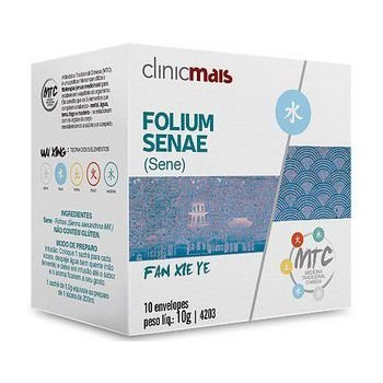 Chá de Sene (Folium Senae) CHÁ MAIS (ClinicMais) 10 Sachês