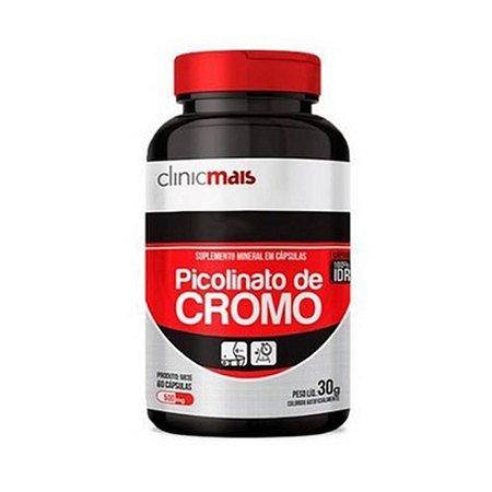 Picolinato de Cromo CHÁ MAIS 500mg 60 Cápsulas