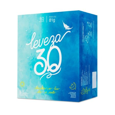 Chá Misto Leveza Dia e Noite CHÁ MAIS (ClinicMais) por 30 dias 60 Sachês