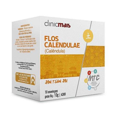 Chá de Calêndula (Flos Calendulae) CHÁ MAIS (ClinicMais) 10 Sachês