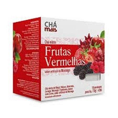 Chá misto Frutas Vermelhas CHÁ MAIS 10 Sachês