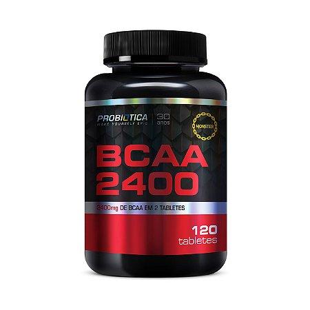 BCAA 2400 PROBIÓTICA 120 Tabletes