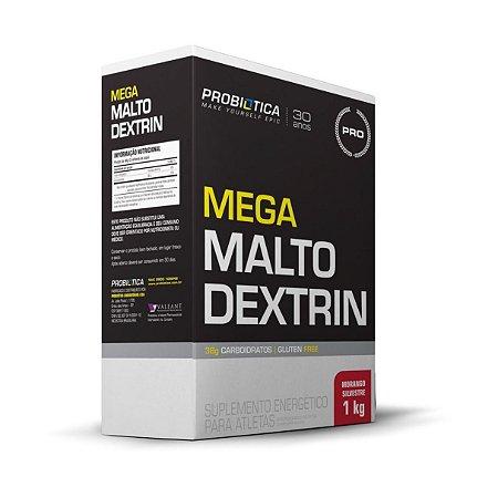 Mega Maltodextrina PROBIÓTICA Sabor Morango 1kg