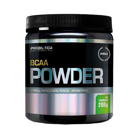 BCAA Powder PROBIÓTICA Sabor Limonada 200g