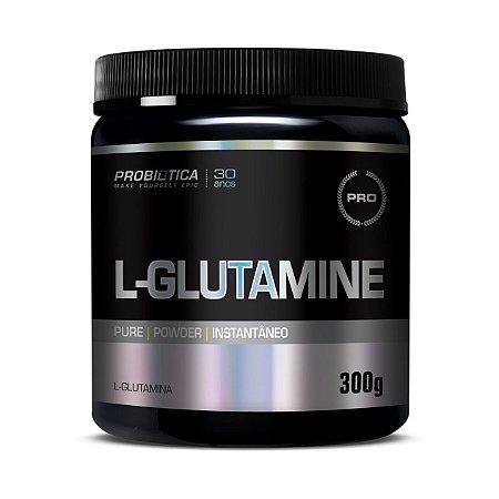 L-Glutamina PROBIÓTICA Sem Sabor 300g