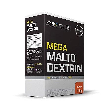 Mega Maltodextrina PROBIÓTICA Sabor Laranja 1kg