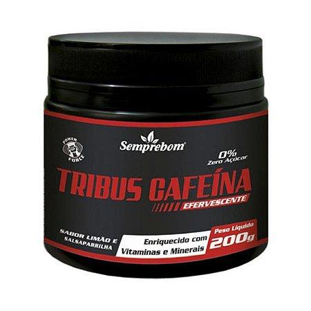 Tribus Cafeína Efervescente SEMPREBOM Sabor Limão e Salsaparrilha 200g