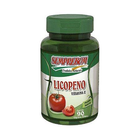 Licopeno com Vitamina E SEMREBOM 450mg 90 Cápsulas