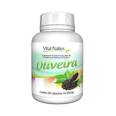 Oliveira VITAL NATUS 500mg 60 Cápsulas