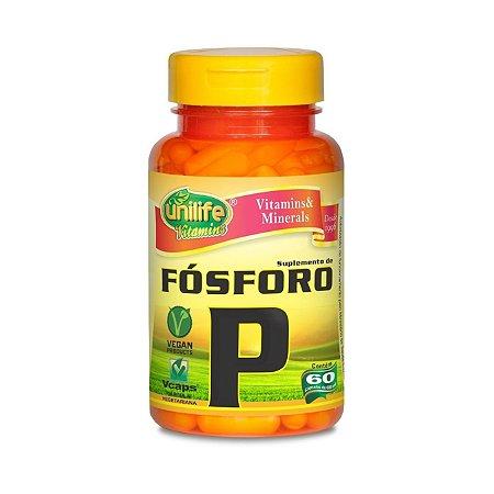 Fósforo UNILIFE 100mg 60 Comprimidos