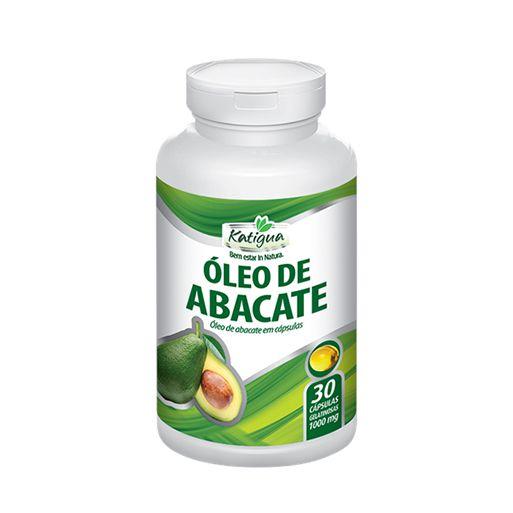 OLEO DE ABACATE 1000MG 30CAPS KATIGUA