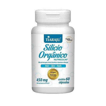 Silício Orgânico (Nutricolin) 450mg c/ 60 Cápsulas - TIARAJU