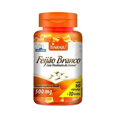 Feijão Branco com Picolinato de Cromo TIARAJU 500mg 60 + 10 Cápsulas