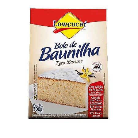 Mistura p/ Bolo Zero Baunilha Lowcucar 300g