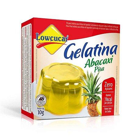 Gelatina Lowcucar Zero Abacaxi 10g