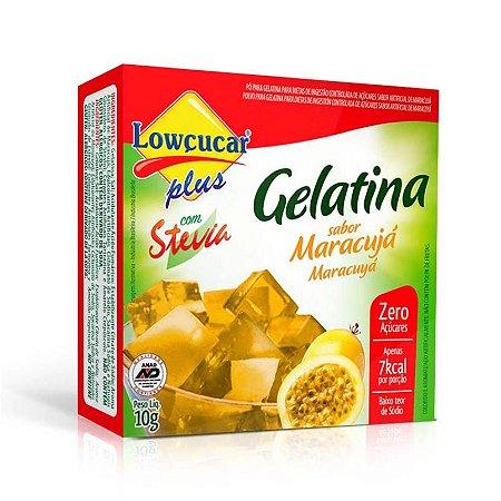 Gelatina Lowcucar Plus Stevia Maracuja 10g