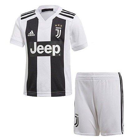 Conjunto Infantil Juventus Home 18 19 Torcedor Adidas - MERCADO ... de7178b712053