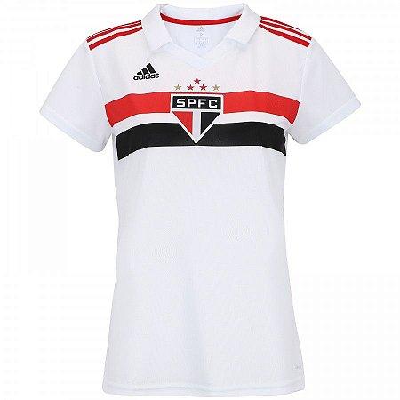 Camisa são Paulo Home 18 19 Torcedora Adidas Feminina - MERCADO ... c2403890615fb