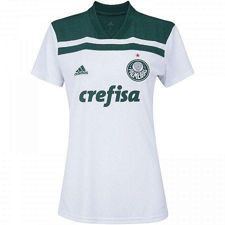 Camisa Palmeiras Away 18 19 Torcedor Adidas Feminina - MERCADO ... 67f9a7b4d1470