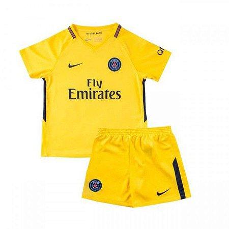 Kit Infantil PSG II 17-18 Nike - MERCADO SPORTS Outlet 5422e73482dc5