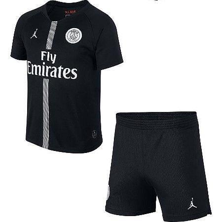 5a23f9f30a61a Kit Infantil Paris Saint Germain Home 18 19 Jordan