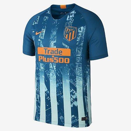 313094d17b Camisa Atlético de Madrid Uniforme 3 Temporada 18 19 Nike - MERCADO ...