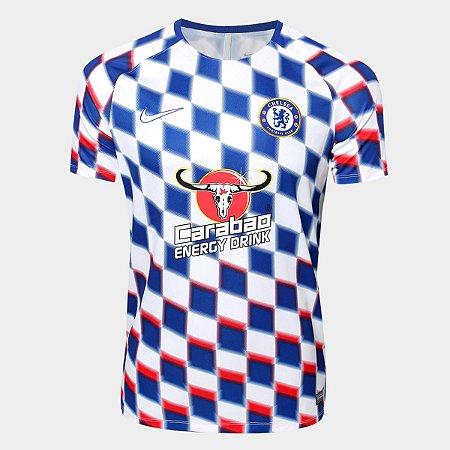 d5c4da7d070e8 Camisa Chelsea Pré Jogo 2018 Torcedor Nike Masculina - MERCADO ...