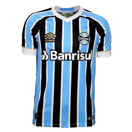 55f3986086796 Camisa do Grêmio Uniforme I Temporada 18-19 Torcedor Umbro - MERCADO ...