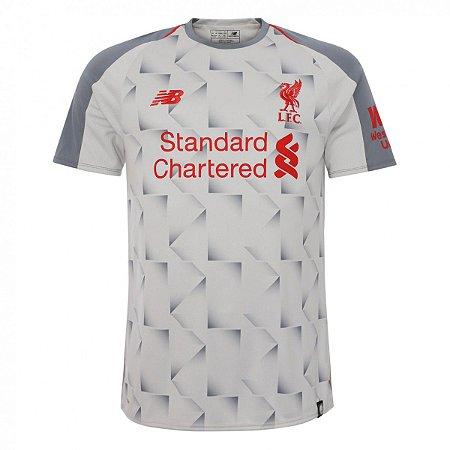 Camisa Liverpool Third 18 19 Torcedor New Balance Masculina ... ba71c8616e536