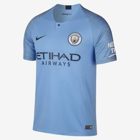 Camisa Manchester City Home 18 19 Torcedor Nike Masculina - MERCADO ... daf849b5ad12c