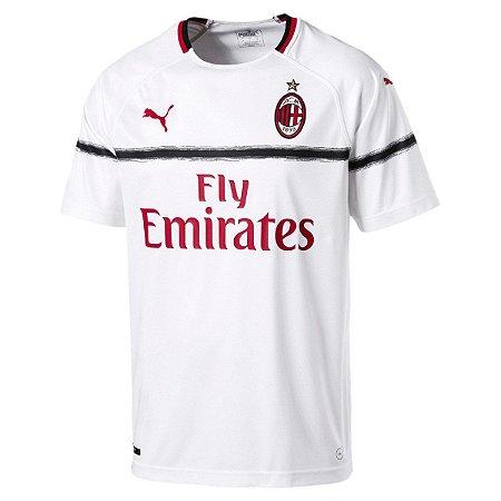 Camisa Milan Away 18 19 Torcedor Puma Masculina - MERCADO SPORTS Outlet 41783af8114b6